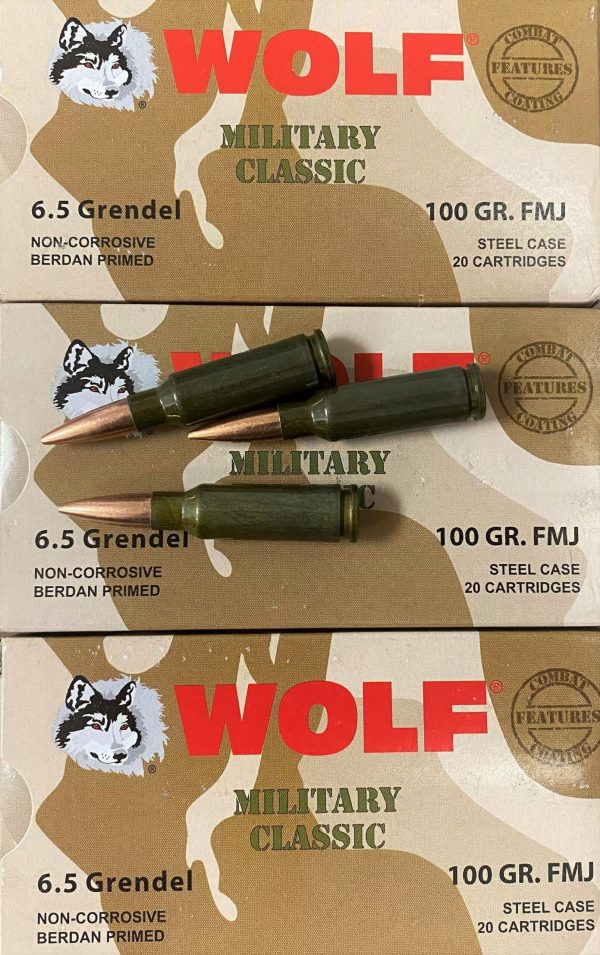 5.5mm Grendel Ammo for AR15