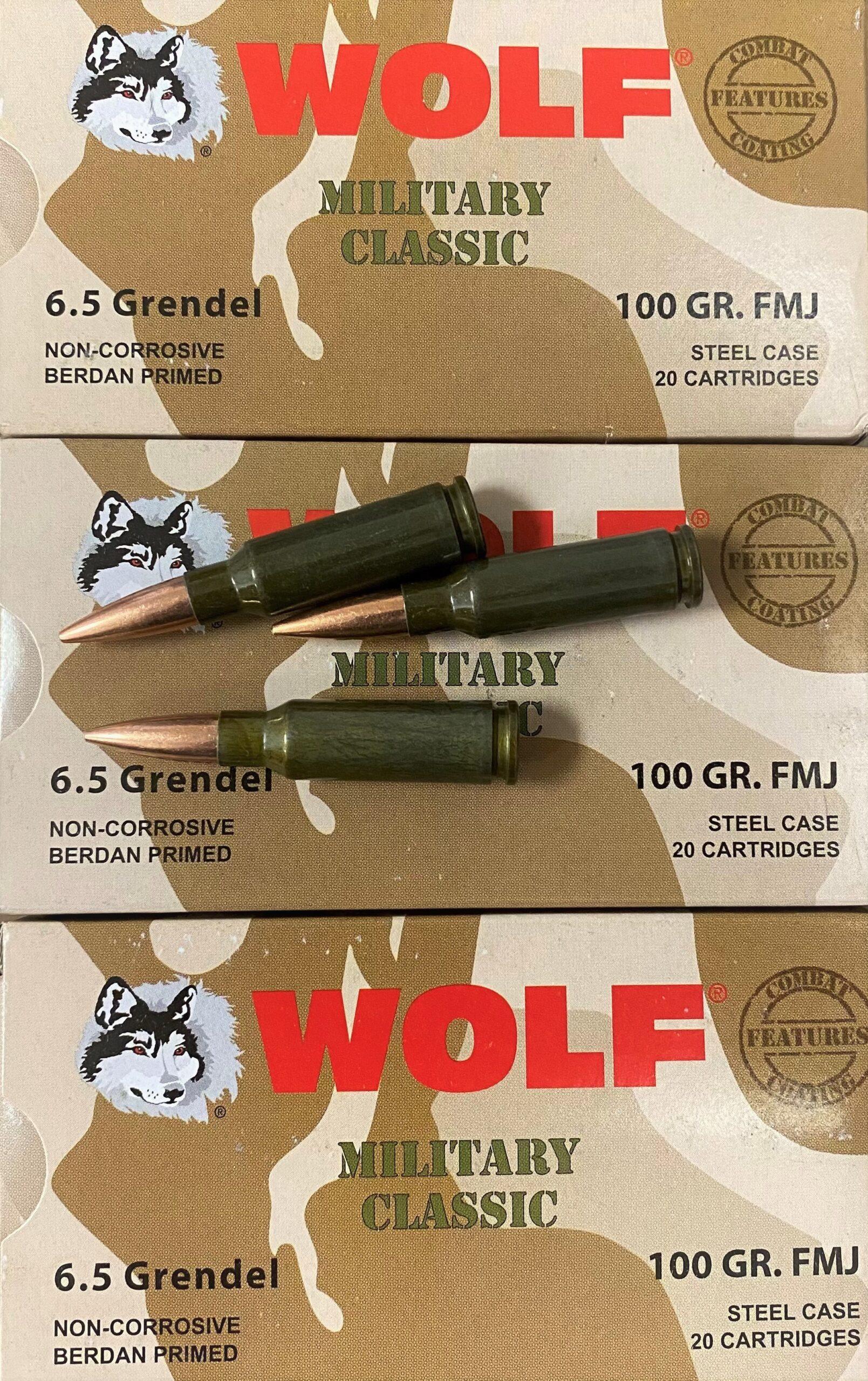 5.5mm Grendel Ammo for AR15