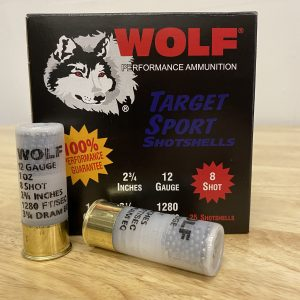 12 GA - WOLF - 8 Shot - 2 3/4 Inches - 1 oz. - Factory New - 25 Round Count